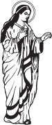 Clipart Image For Headstone Monument mary 07