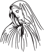 Clipart Image For Headstone Monument mary 11