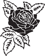 Clipart Image For Headstone Monument rose 12