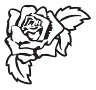 Clipart Image For Headstone Monument rose 29
