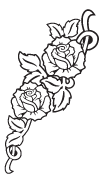 Clipart Image For Headstone Monument rose 30