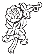 Clipart Image For Headstone Monument rose 32
