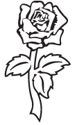 Clipart Image For Headstone Monument rose 36