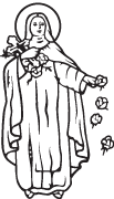 Clipart Image For Headstone Monument saints 04