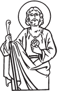 Clipart Image For Headstone Monument saints 07
