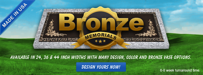 Now Selling Bronze Headstones