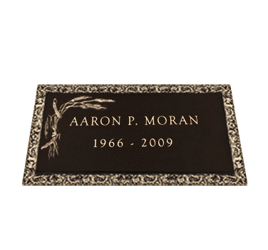 Bronze Headstone 24x12 Individual without Base