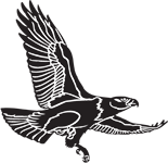 Clipart Image For Headstone Monument Eagle 05