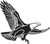 Clipart Image For Headstone Monument Eagle 12