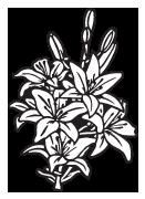 Headstone Clip Art Examples of flowers | Memorial Clip Art
